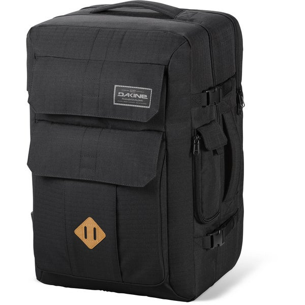 Dakine Departure Black 55L Stowable 17-inch Laptop Backpack