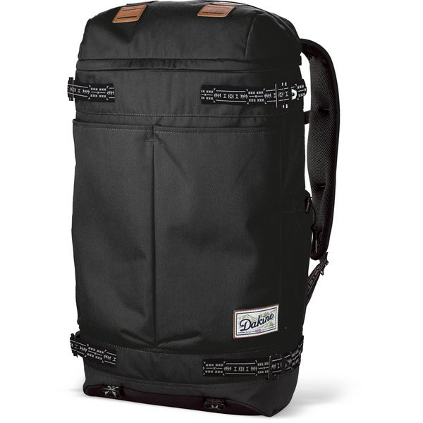 Dakine Vagabond Black 38L 17-inch Laptop Backpack