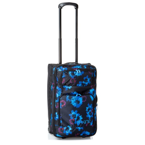 Dakine Over Under Blue Flowers 22-inch 49L Rolling Carry On Upright Suitcase
