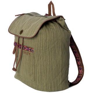 Dakine Sophia Olive 20L 14-inch Flapover Backpack