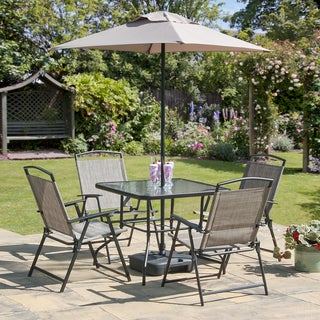 7-piece Oasis Collection Bronze Patio Set