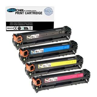 4PK Set Compatible HP 128A KCYM Color Toner Cartridge Combo (CE320A CE321A CE322A CE323A)