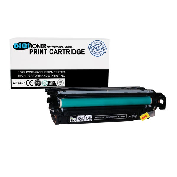 1Pk Compatible HP 647A CE260A Black Toner Cartridge For CM1415fnw