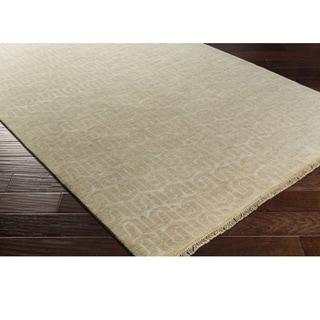 DwellStudio : Hand Knotted Bonsallo Wool/Cotton Rug (6' x 9')