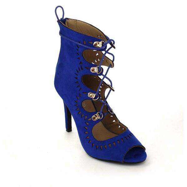 Marilyn Moda NANCY Women's Lace Up Stilettos