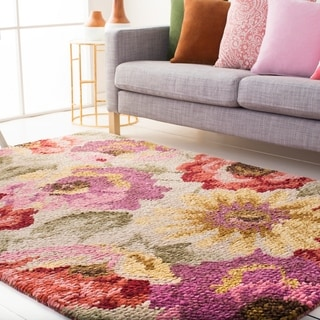 Papilio : Hand Knotted Bway Wool Rug (8' x 10')