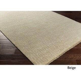 DwellStudio : Hand Knotted Bonsallo Wool/Cotton Rug (9' x 13')