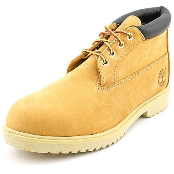 Timberland Men's 'Postal Waterproof Chukka' Nubuck Boots