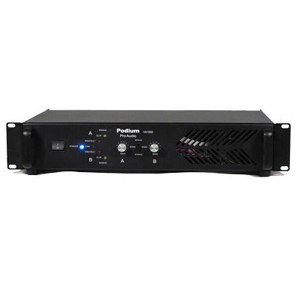 Podium Pro Audio VX1000 DJ PA Band or Karaoke 1000 Watt Pro Audio Amplifier