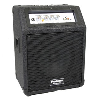 Podium Pro PPM10 Battery Powered Guitar Amp Speaker with MP3 Player