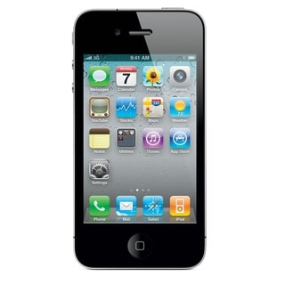 Apple iPhone 4S 32GB Factory Unlocked GSM Seller Refurbished Cell Phone - Black