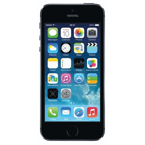 Apple iPhone 5S 64GB Factory Unlocked GSM Seller Refurbished Cell Phone - Space Gray