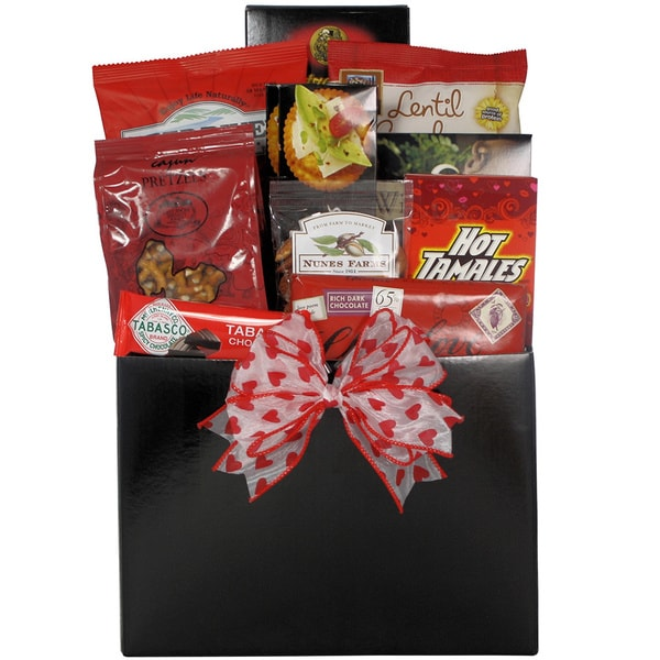 Great Arrivals Hot Stuff: Valentine's Day Hot and Spicy Gourmet Gift Basket