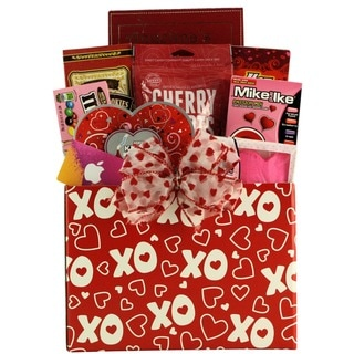 Great Arrivals iValentine Fun Valentine's Day Gift Basket For Tweens and Teens