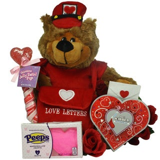 Great Arrivals Love Letters Valentine's Day Gift Basket For Kids