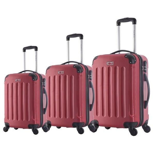 English Laundry 3-piece Hardside Spinner Luggage Set