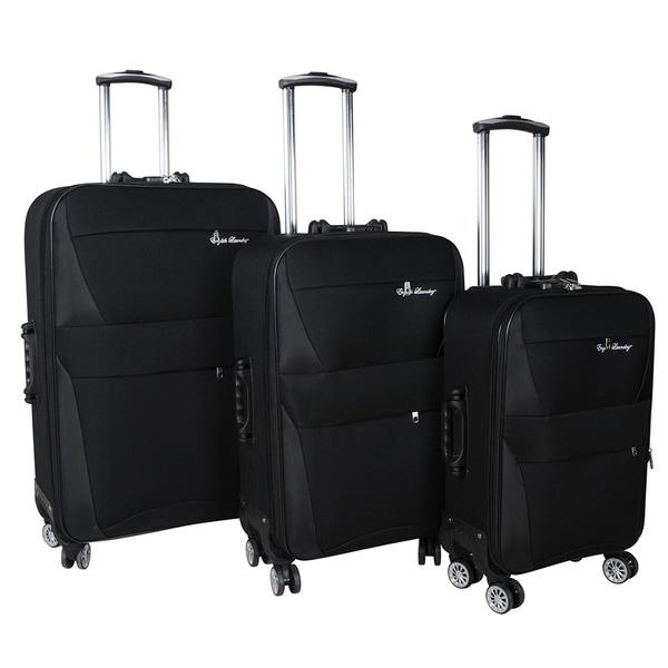 English Laundry 3-piece Expandable Spinner Luggage Set