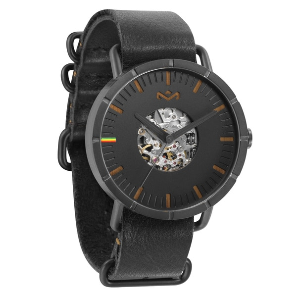 House of Marley Hitch Black Automatic Watch