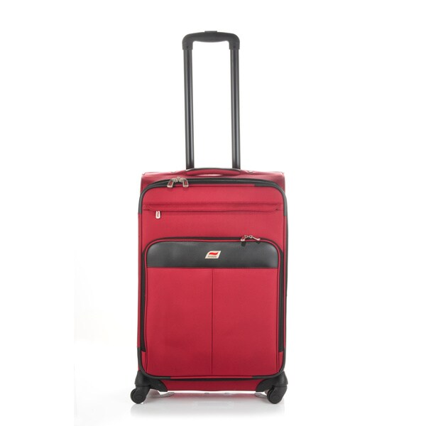 Andare Milan 24-inch Expandable Spinner Upright Suitcase