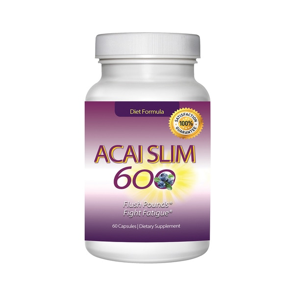 Acai Slim Berry Extract 600mg (60 capsules)