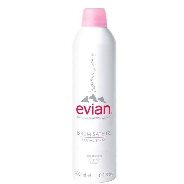 Evian Mineral Water 10-ounce Facial Spray