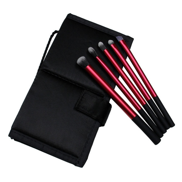 June Lily 5-piece Eye Makeup Brush Starter Set