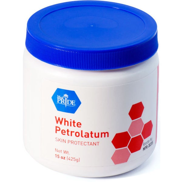 White Petrolatum 15-ounce Jar (Case of 12)