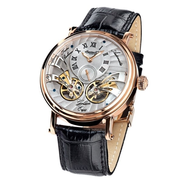Ingersoll Mens Golden Eyes Fine Automatic Timepiece