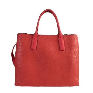 Diophy Stitchings Two-tone Large Capacity Tote Handbag Purse