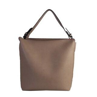 Diophy Stitchings Bag-in-bag Shoulder Hobo Bag