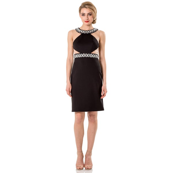 Terani Couture Beaded Short Homecoming Dress