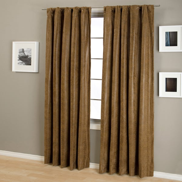 Taft Snake Rod Pocket Curtain Panel