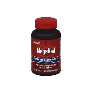 Megared 1000 mg Omega-3 Krill Oil Ultra Strength Supplement