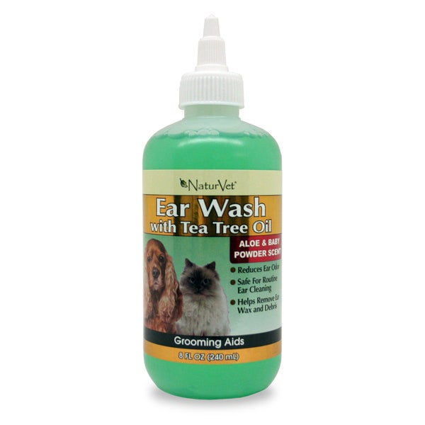 Ear Wash w/Tea Tree Oil