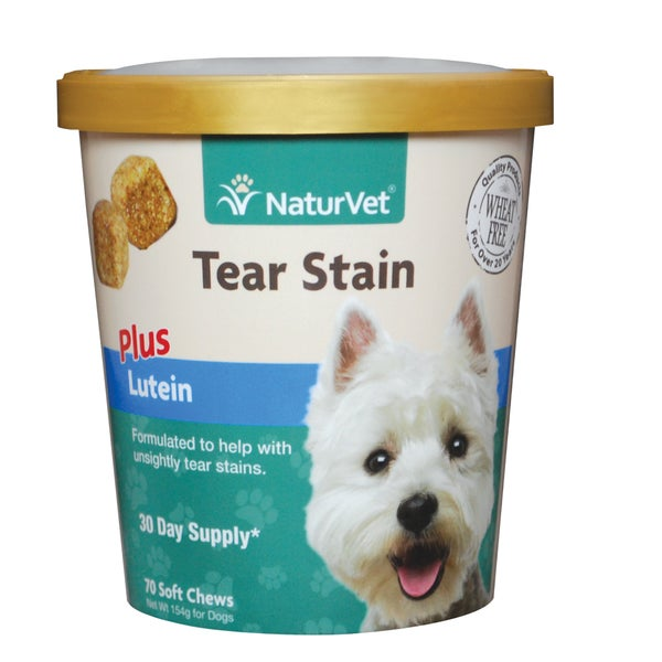 NaturVet Tear Stain Supplement Plus Lutein