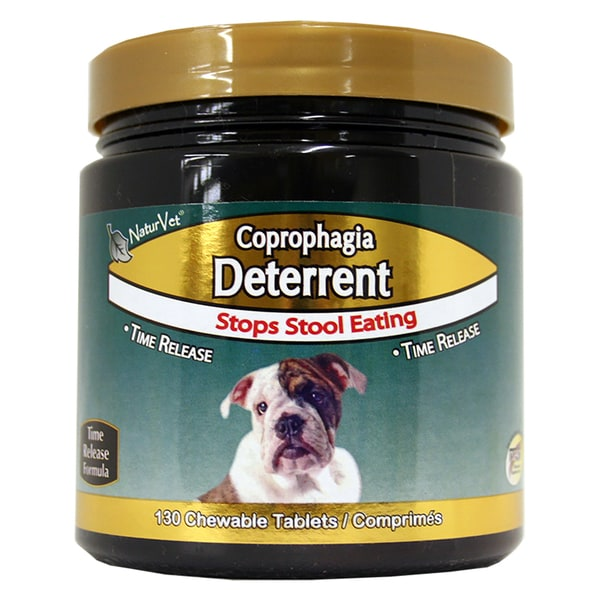 NaturVet Coprophagia Time Release Deterrent Plus Breath Aid