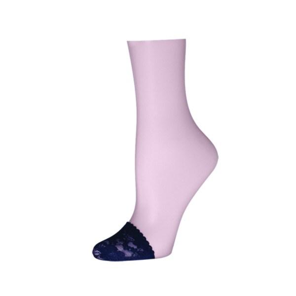 Memoi Women's Floral Lace Toe Covers