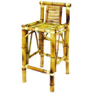 RAM Game Room Bamboo Tiki Barstool Set
