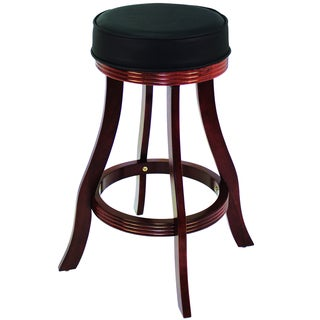 Tudor Backless 30 Quot Stationary Barstool In Antique Brown