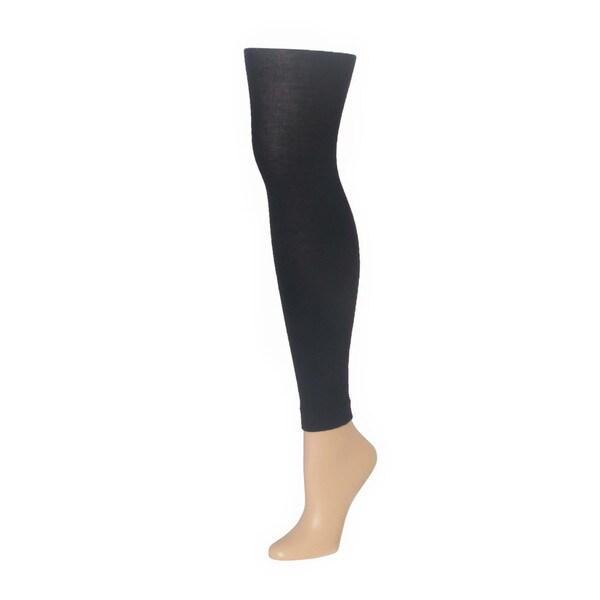 Memoi Women's Merino Wool/Tencel Footless Tights 17198155