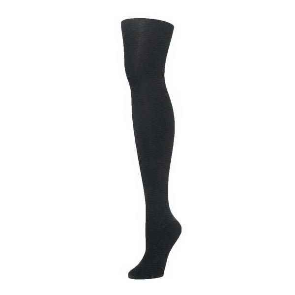 Memoi Womens Merino Wool/Tencel Flatknit Tights