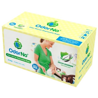 Odor-No Odor Barrier 2-Gallon Baby Multi-Layer Waste Disposal Bags (20 Count)