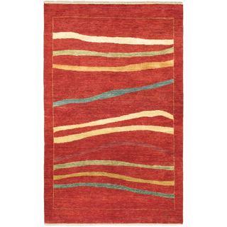 ecarpetgallery Finest Ziegler Chobi Red Wool Rug (4'6 x 7'2)