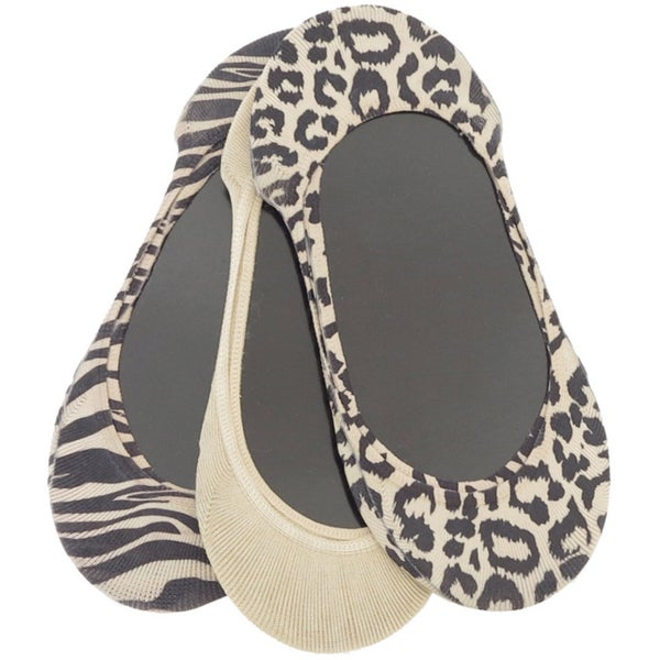 Memoi Women's Assorted Animal Print Liner (Pack of 3)