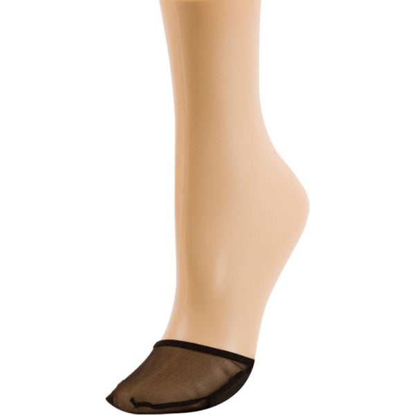 Memoi Women's Sheer Toe Cover