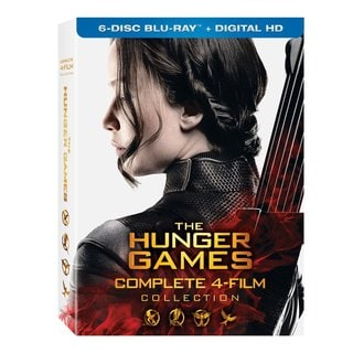 The Hunger Games Collections (Blu-ray Disc)