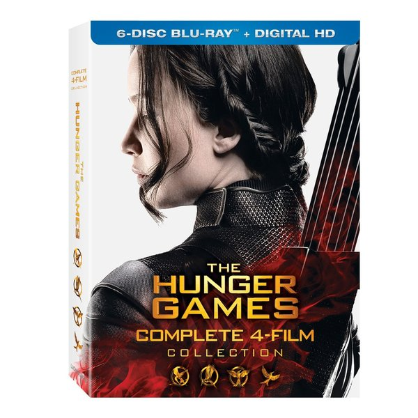 The Hunger Games Collections (Blu-ray Disc) 17201269