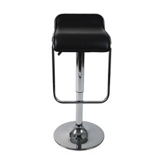Furgus Bar/Counter Stool - Black/Chrome