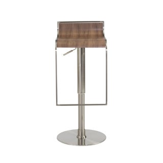Forest Bar/Counter Stool - Walnut/Satin Nickel