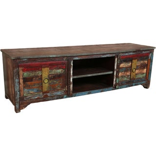Porter Orissa Reclaimed Wood TV Stand (India)